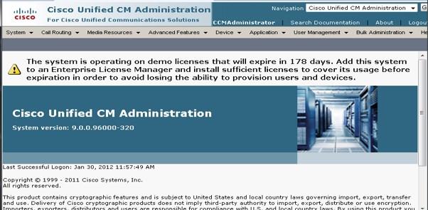 Cucm Demo License